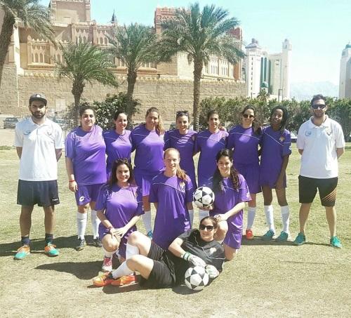 קבוצת כדורגל נשים