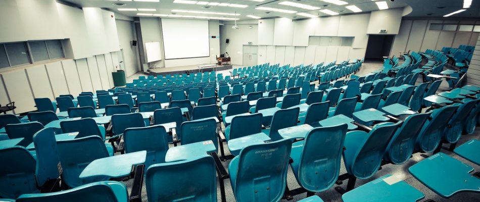 כיתה ריקה באוניברסיטה
