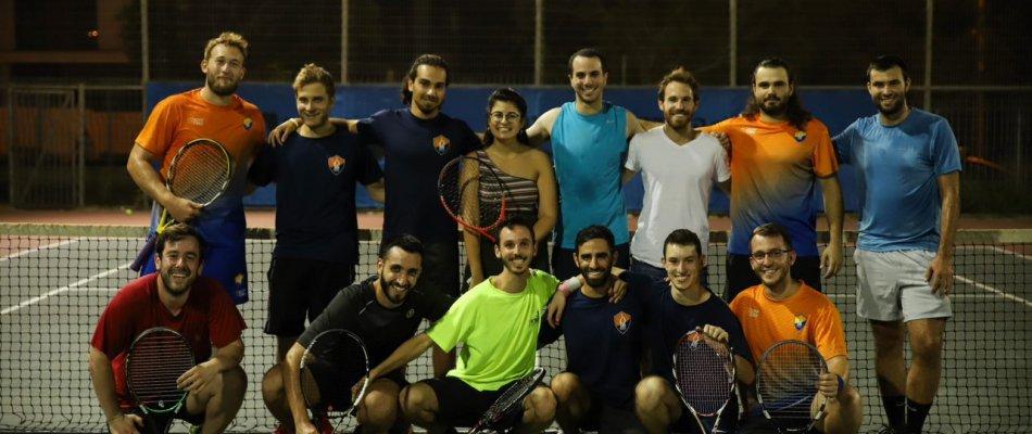 נבחרת הטניס אוניברסיטת בן גוריון