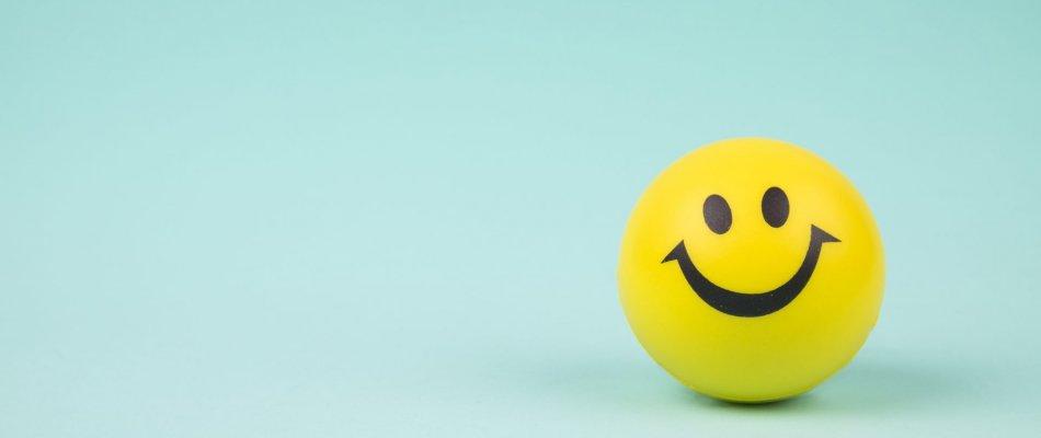 בלון מחייך